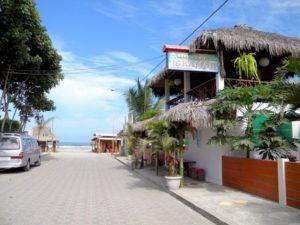 Olon beach